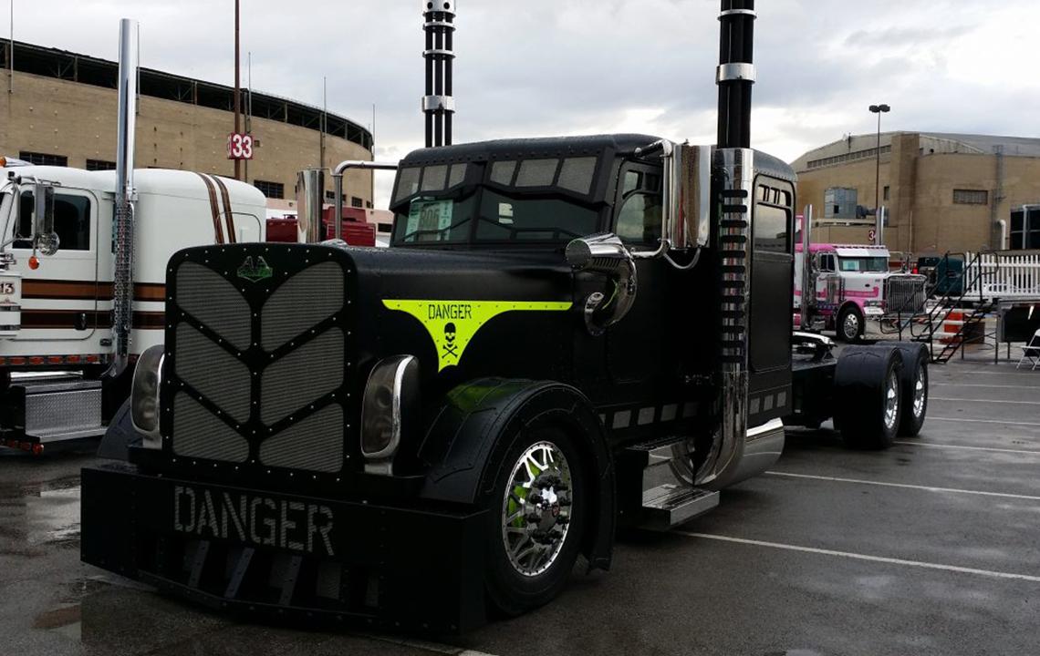 Ремонт американских грузовиков