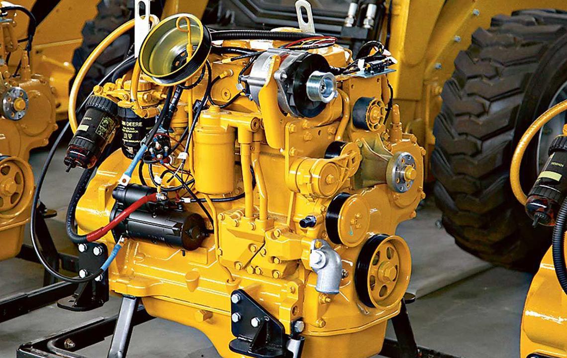 Ремонт двигателя погрузчика