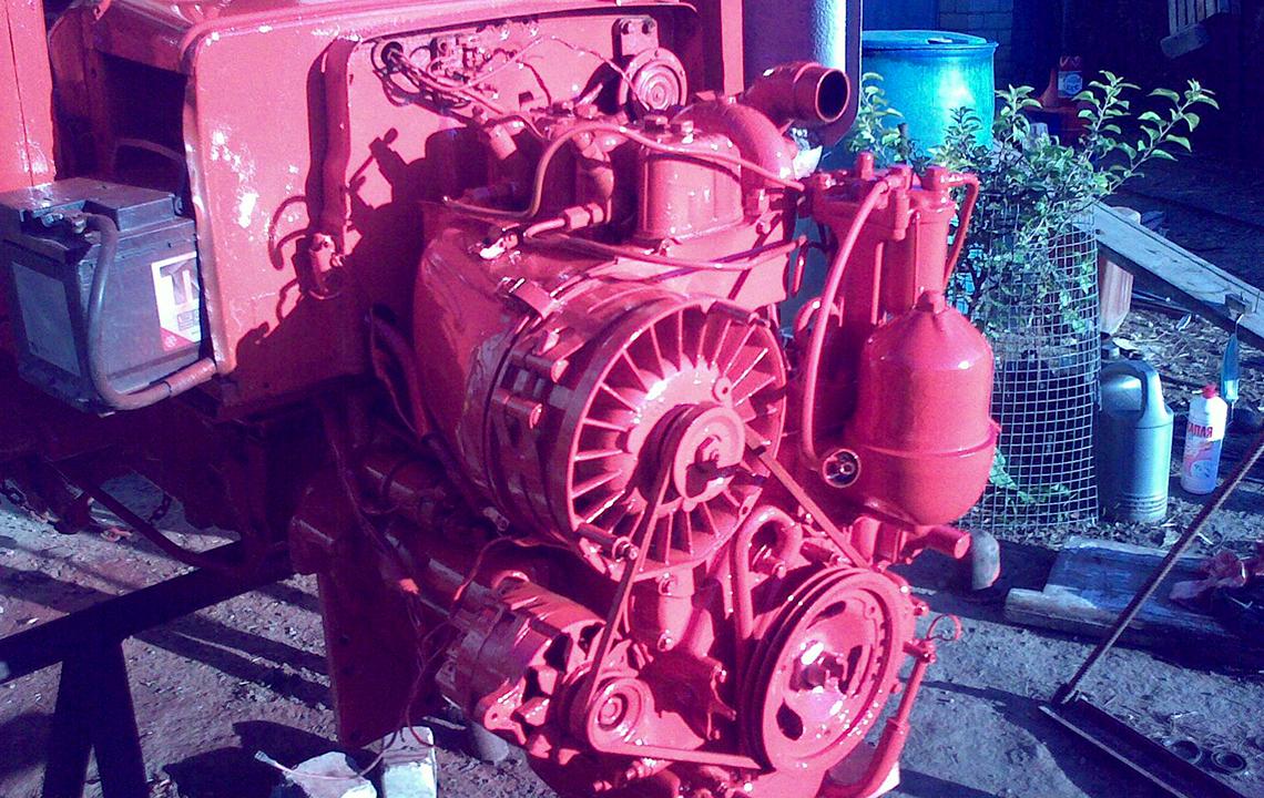 Ремонт двигателя трактора
