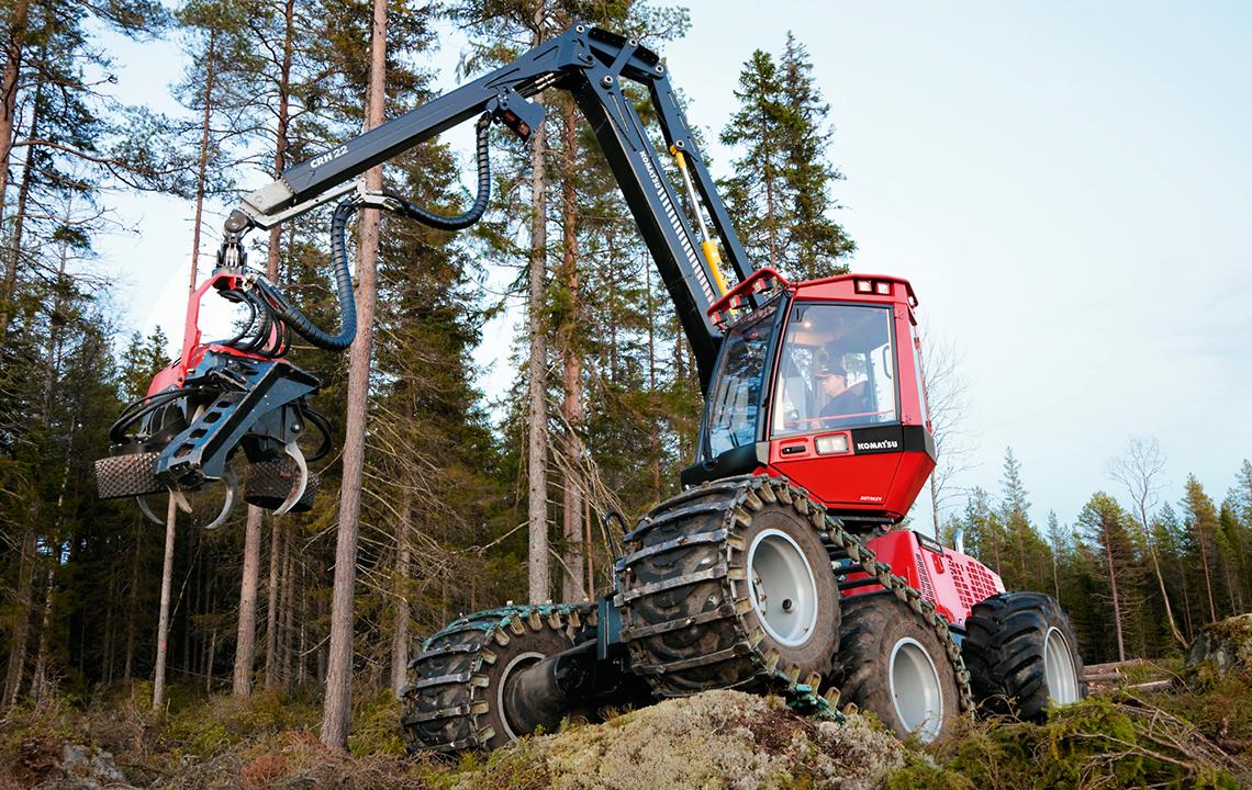 Ремонт лесозаготовительной техники