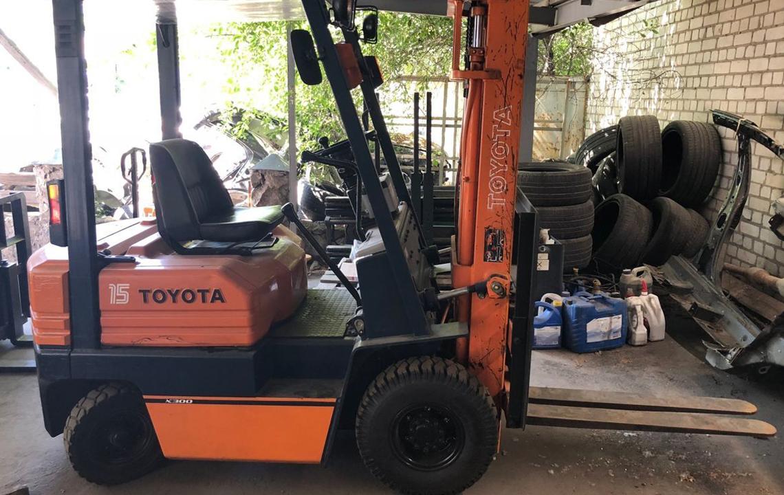 Ремонт погрузчика Toyota (Тойота)