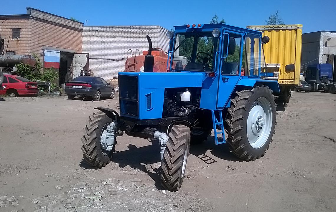 Ремонт трактора МТЗ-82