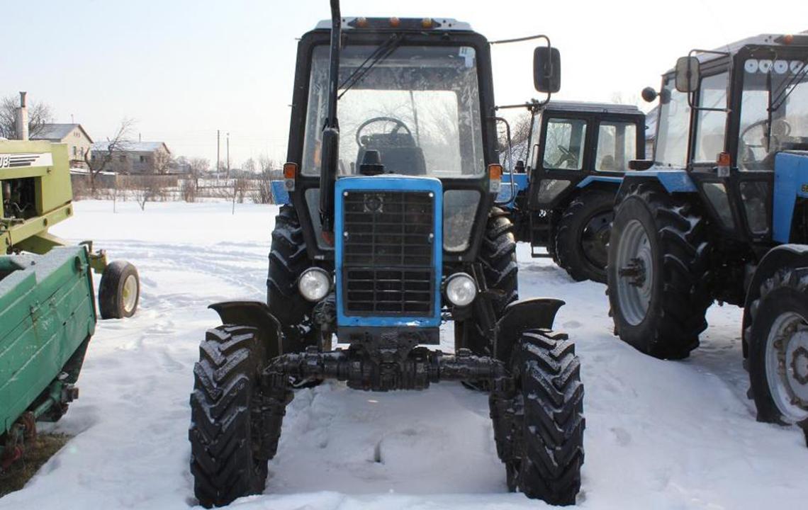 Ремонт трактора МТЗ