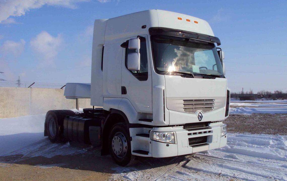 Ремонт тягача Renault (Рено)